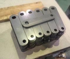 鉄のレーザー切断
